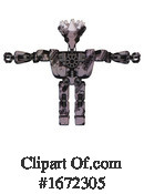 Robot Clipart #1672305 by Leo Blanchette