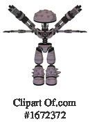 Robot Clipart #1672372 by Leo Blanchette
