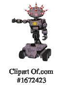 Robot Clipart #1672423 by Leo Blanchette