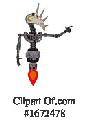 Robot Clipart #1672478 by Leo Blanchette