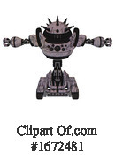 Robot Clipart #1672481 by Leo Blanchette