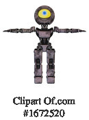 Robot Clipart #1672520 by Leo Blanchette