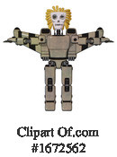 Robot Clipart #1672562 by Leo Blanchette