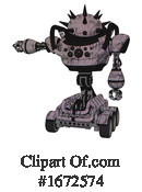 Robot Clipart #1672574 by Leo Blanchette