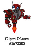 Robot Clipart #1672585 by Leo Blanchette