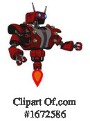 Robot Clipart #1672586 by Leo Blanchette