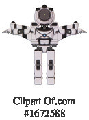 Robot Clipart #1672588 by Leo Blanchette