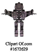 Robot Clipart #1672629 by Leo Blanchette