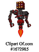 Robot Clipart #1672985 by Leo Blanchette