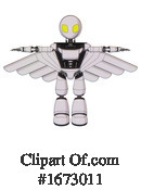 Robot Clipart #1673011 by Leo Blanchette
