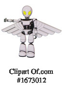 Robot Clipart #1673012 by Leo Blanchette