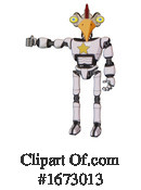Robot Clipart #1673013 by Leo Blanchette