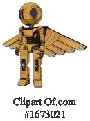 Robot Clipart #1673021 by Leo Blanchette