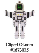 Robot Clipart #1673025 by Leo Blanchette