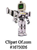 Robot Clipart #1673026 by Leo Blanchette
