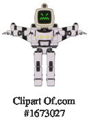 Robot Clipart #1673027 by Leo Blanchette