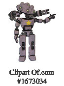 Robot Clipart #1673034 by Leo Blanchette