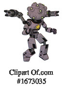Robot Clipart #1673035 by Leo Blanchette