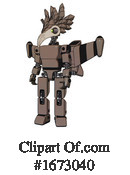 Robot Clipart #1673040 by Leo Blanchette