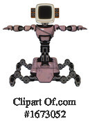 Robot Clipart #1673052 by Leo Blanchette