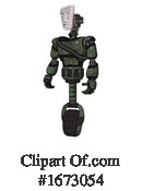 Robot Clipart #1673054 by Leo Blanchette