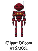 Robot Clipart #1673061 by Leo Blanchette