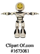 Robot Clipart #1673081 by Leo Blanchette