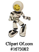 Robot Clipart #1673082 by Leo Blanchette