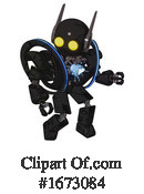 Robot Clipart #1673084 by Leo Blanchette