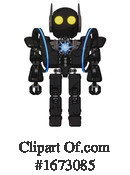 Robot Clipart #1673085 by Leo Blanchette