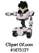 Robot Clipart #1673127 by Leo Blanchette