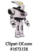 Robot Clipart #1673128 by Leo Blanchette