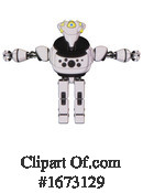 Robot Clipart #1673129 by Leo Blanchette