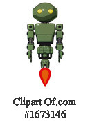Robot Clipart #1673146 by Leo Blanchette
