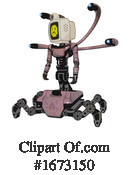 Robot Clipart #1673150 by Leo Blanchette