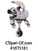 Robot Clipart #1673181 by Leo Blanchette
