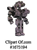 Robot Clipart #1673194 by Leo Blanchette