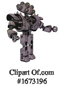 Robot Clipart #1673196 by Leo Blanchette