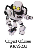 Robot Clipart #1673201 by Leo Blanchette