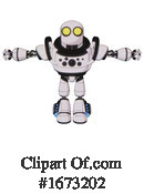 Robot Clipart #1673202 by Leo Blanchette
