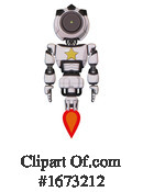 Robot Clipart #1673212 by Leo Blanchette