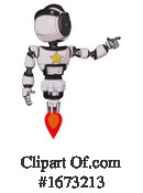 Robot Clipart #1673213 by Leo Blanchette