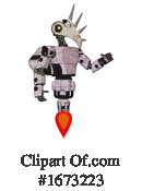 Robot Clipart #1673223 by Leo Blanchette