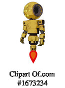 Robot Clipart #1673234 by Leo Blanchette