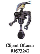 Robot Clipart #1673242 by Leo Blanchette