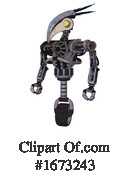 Robot Clipart #1673243 by Leo Blanchette
