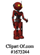 Robot Clipart #1673244 by Leo Blanchette