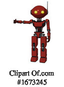Robot Clipart #1673245 by Leo Blanchette