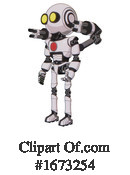 Robot Clipart #1673254 by Leo Blanchette