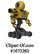 Robot Clipart #1673260 by Leo Blanchette